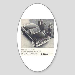 """""""1959 Studebaker Lark"""" Oval Sticker"""
