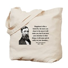 Henry David Thoreau 38 Tote Bag