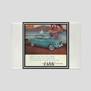 """""""1959 Lark Ad"""" Rectangle Magnet"""