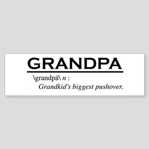 Grandpa Bumper Sticker