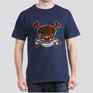 Connolly Tartan Skull Dark T-Shirt