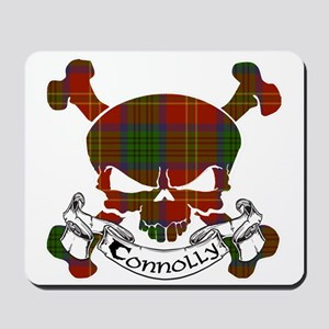 Connolly Tartan Skull Mousepad