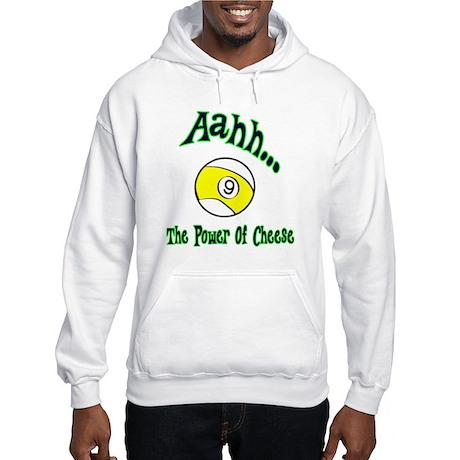 Aahh The Power of Cheese Men's Hoodie Sweatshirt
