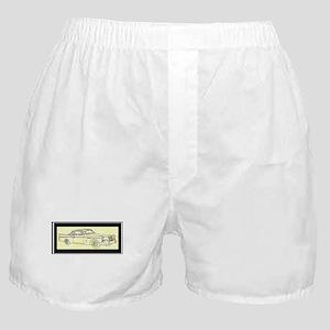 """1956 Packard Hawk?"" Boxer Shorts"