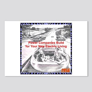 """""""1956 Futuristic Ad"""" Postcards (Package of 8)"""