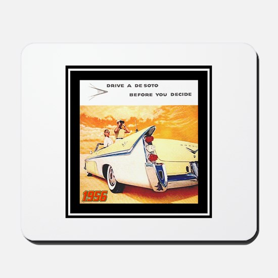 """1956 DeSoto Ad"" Mousepad"