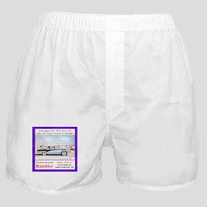 """""""1956 Rambler Ad"""" Boxer Shorts"""