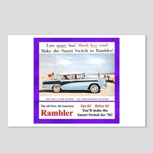 """""""1956 Rambler Ad"""" Postcards (Package of 8)"""