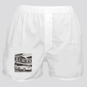 """Mobilgas Finish"" Boxer Shorts"