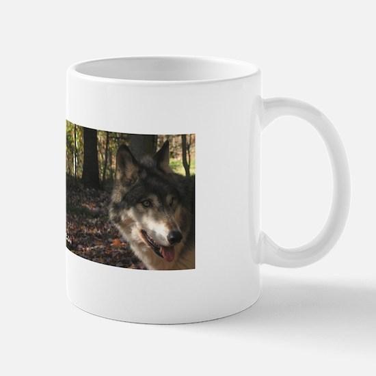 Wolf Portrait Side View Mug