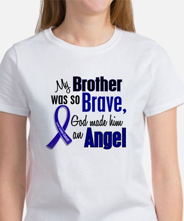 Angel 1 BROTHER Colon Cancer Women's T-Shirt