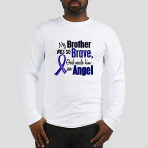 Angel 1 BROTHER Colon Cancer Long Sleeve T-Shirt
