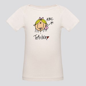 Female Teacher Organic Baby T-Shirt