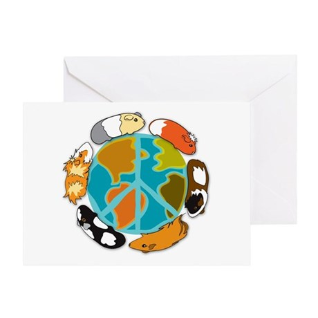 Pigs On Earth Card Greeting Cards