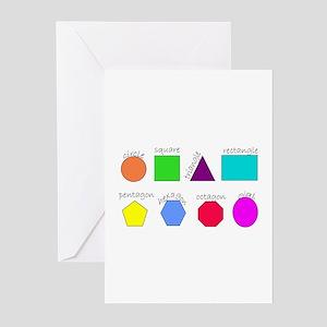 geometrics Greeting Cards (Pk of 10)