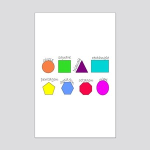 geometrics Mini Poster Print
