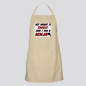 my name is emely and i am a ninja BBQ Apron