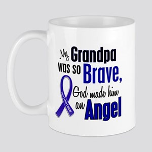 Angel 1 GRANDPA Colon Cancer Mug