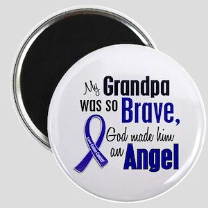 Angel 1 GRANDPA Colon Cancer Magnet