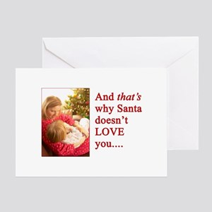 And That's Why Santa Doesn't Love You Cards (10) G
