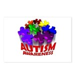 Autism Puzzle Jump Postcards (Package of 8)