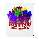 Autism Puzzle Jump Mousepad