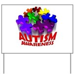 Autism Puzzle Jump Yard Sign