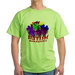 Autism Puzzle Jump Green T-Shirt