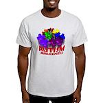 Autism Puzzle Jump Light T-Shirt