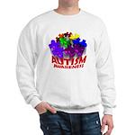 Autism Puzzle Jump Sweatshirt