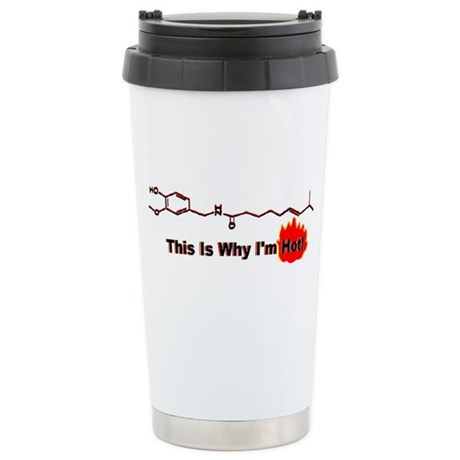 This is Why I'm Hot Chemistry Travel Mug