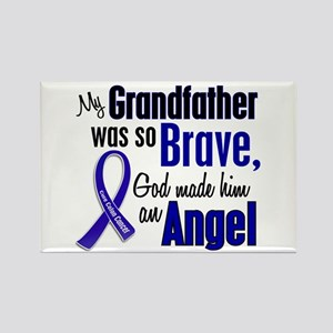 Angel 1 GRANDFATHER Colon Cancer Rectangle Magnet