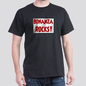 Bonanza Rocks Ash Grey T-Shirt