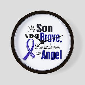 Angel 1 SON Colon Cancer Wall Clock