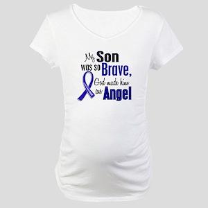 Angel 1 SON Colon Cancer Maternity T-Shirt