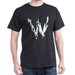 Wasted Logo Black T-Shirt
