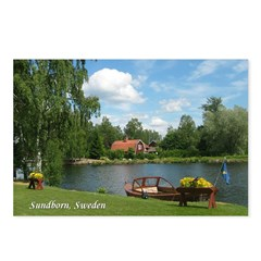 Sundborn Lake Scene Postcards (Package of 8)