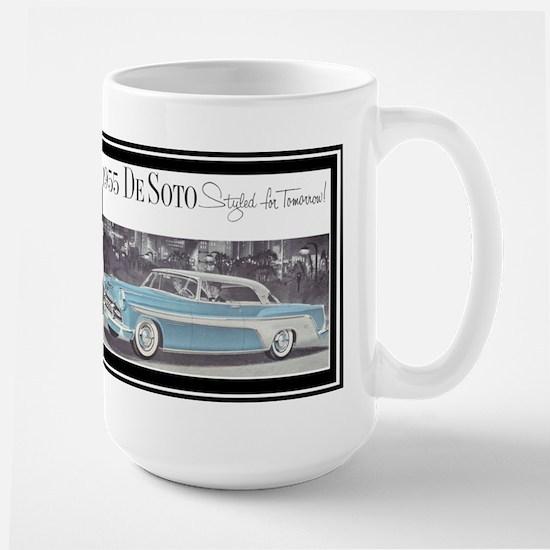 """1955 DeSoto Ad"" Large Mug"