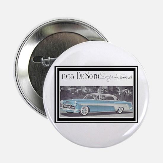 """""""1955 DeSoto Ad"""" 2.25"""" Button"""