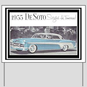 """1955 DeSoto Ad"" Yard Sign"