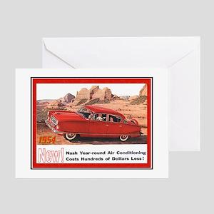 """""""1954 Nash Ad"""" Greeting Card"""