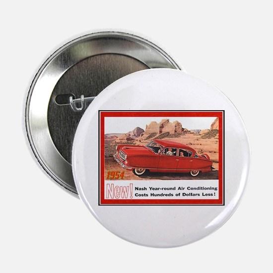 """""""1954 Nash Ad"""" 2.25"""" Button"""