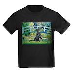 Flat Coated Retriever 2 Kids Dark T-Shirt