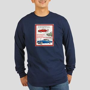 """1954 Studebaker Ad"" Long Sleeve Dark T-Shirt"
