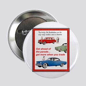 """1954 Studebaker Ad"" 2.25"" Button"