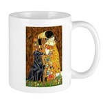 Kiss / Flat Coated Retriever Mug