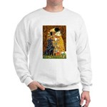 Kiss / Flat Coated Retriever Sweatshirt