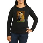 Kiss / Flat Coated Retriever Women's Long Sleeve D