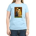 Kiss / Flat Coated Retriever Women's Light T-Shirt