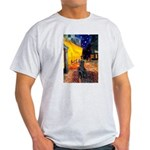 Cafe / Flat Coated Retriever Light T-Shirt